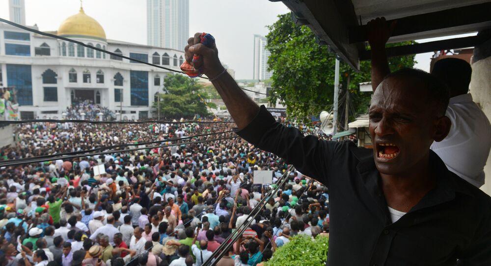 Crise au Sri Lanka