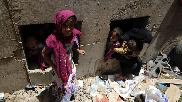 des enfants au Yémen - Sputnik France