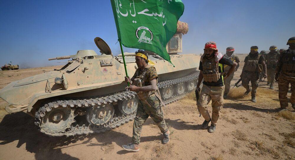 Une opération conjointe des combattants des Hachd al-Chaabi et les forces irakiennes (image d'illustration)
