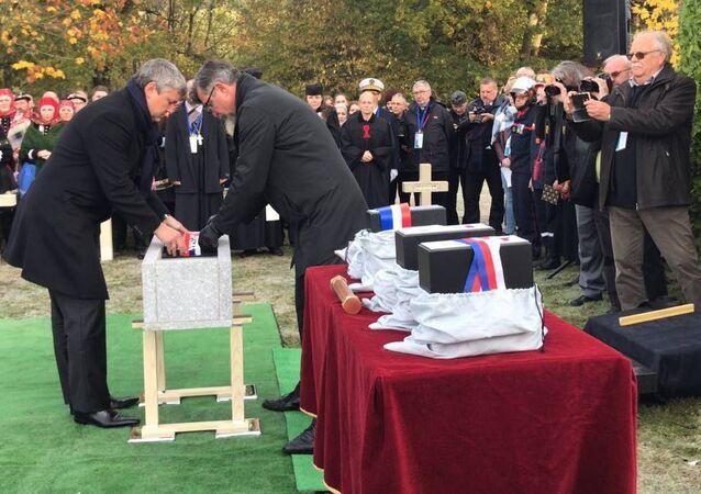 Les Ardennes honorent 246 combattants russes de la Première Guerre Mondiale