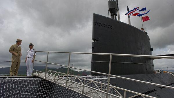 Le sous-marin chinois Yuan à la base navale de Zhoushan - Sputnik France
