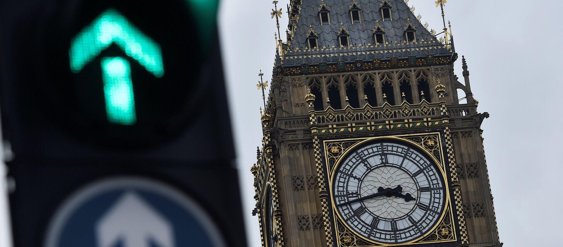 The Big Ben clocktower is seen in London, Britain, 12 March - Sputnik France, 1920, 29.01.2020