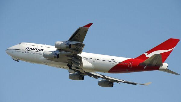 Un Boeing 747 de Qantas - Sputnik France