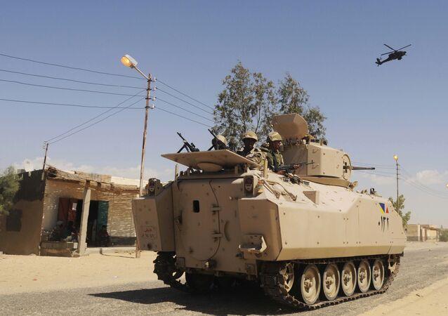 Militaires égyptiens