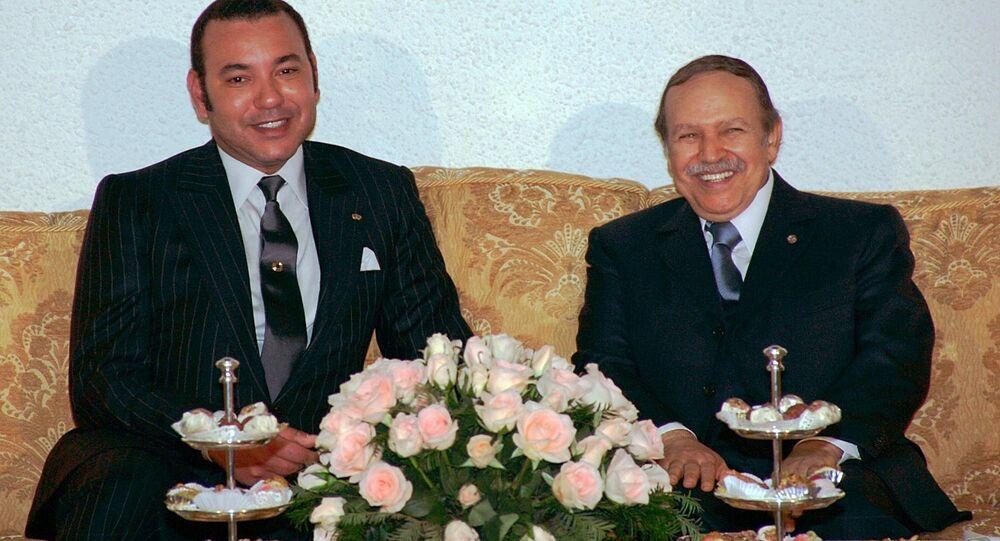 Mohammed VI et Abdelaziz Bouteflika