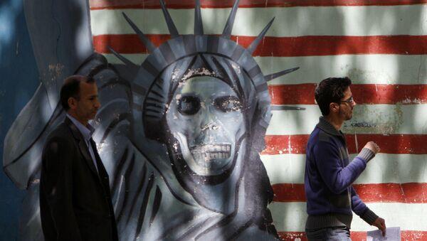Anti-US Bild im Iran (Archivbild) - Sputnik France