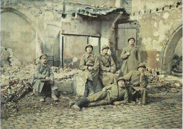Des soldats russes