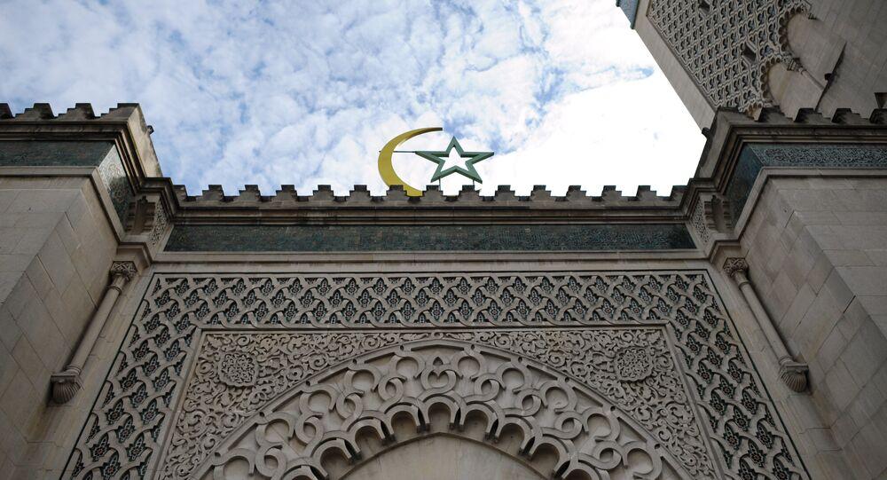 La grande mosquée de Paris. Photo d'archive