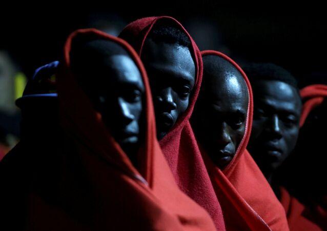 Migrants subsahariens