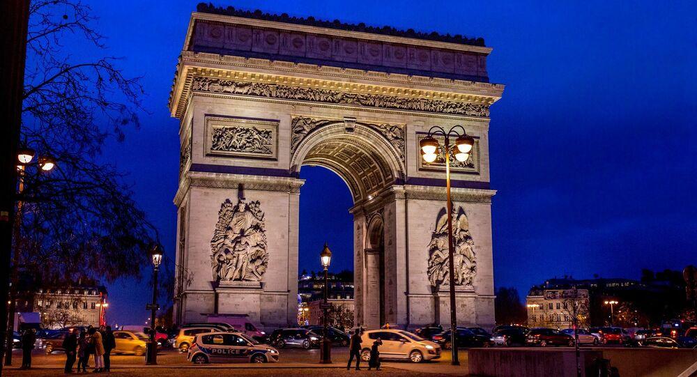 L'Arc de Triomphe à Paris