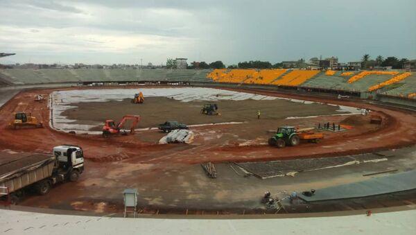 Stade de Japoma, à Douala, Cameroun - Sputnik France
