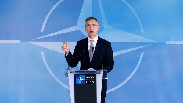 NATO Secretary General Jens Stoltenberg - Sputnik France