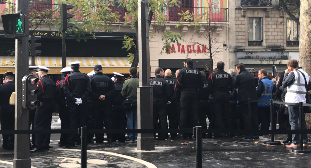 Le Bataclan au centre des hommages aux victimes des attentats du 13 novembre trois ans après le drame qui a frappé la France et cette salle, 13 novembre 2018