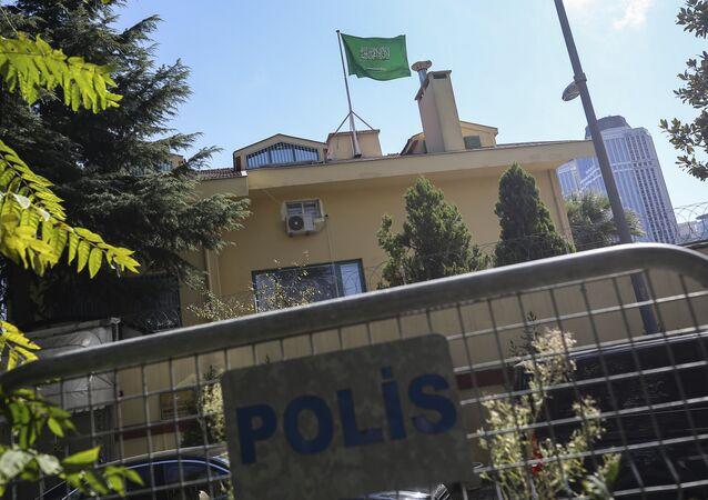 Le consulat saoudien à Istanbul