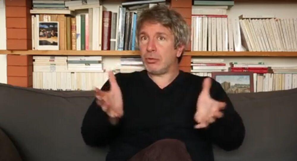 Éric Vuillard, écrivain