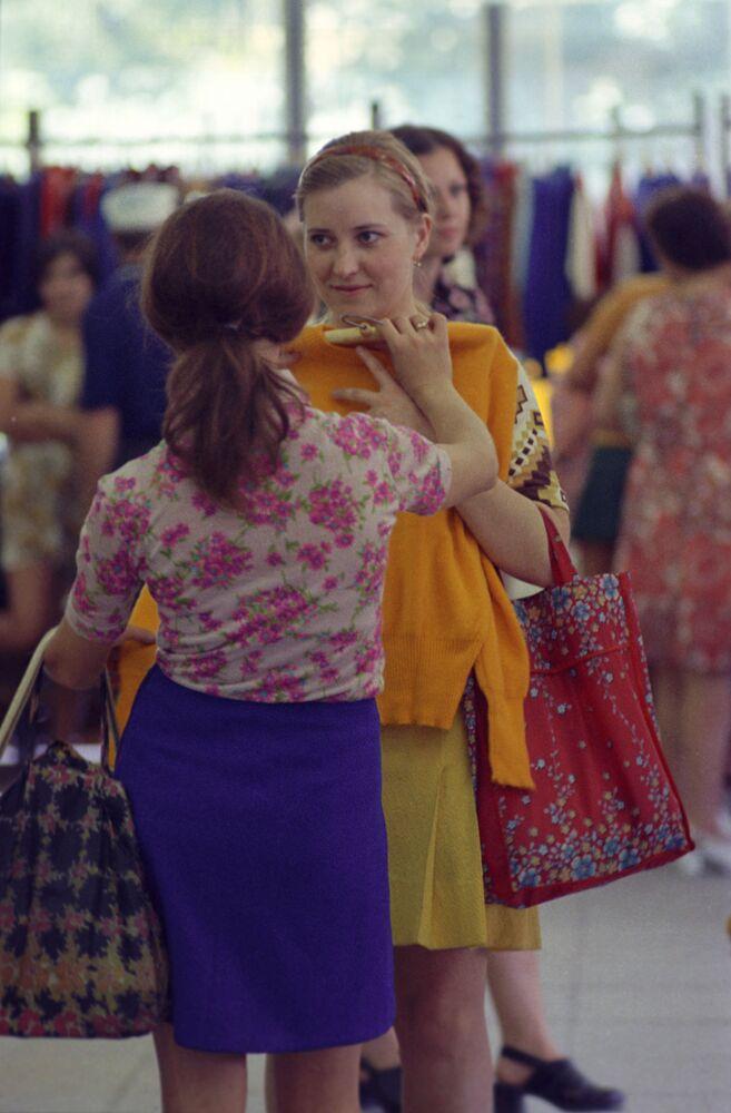 La mode en URSS: sur le podium et ailleurs
