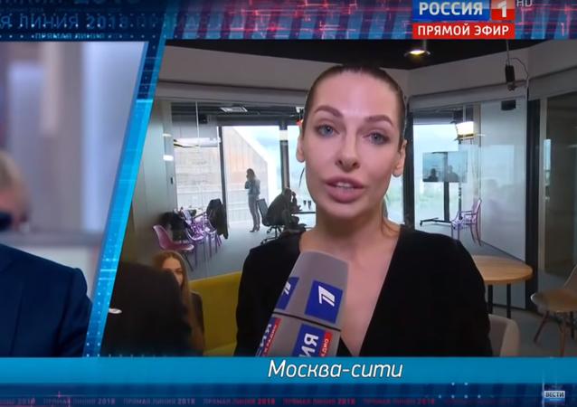 la «Ligne directe» de Vladimir Poutine le 7 juin