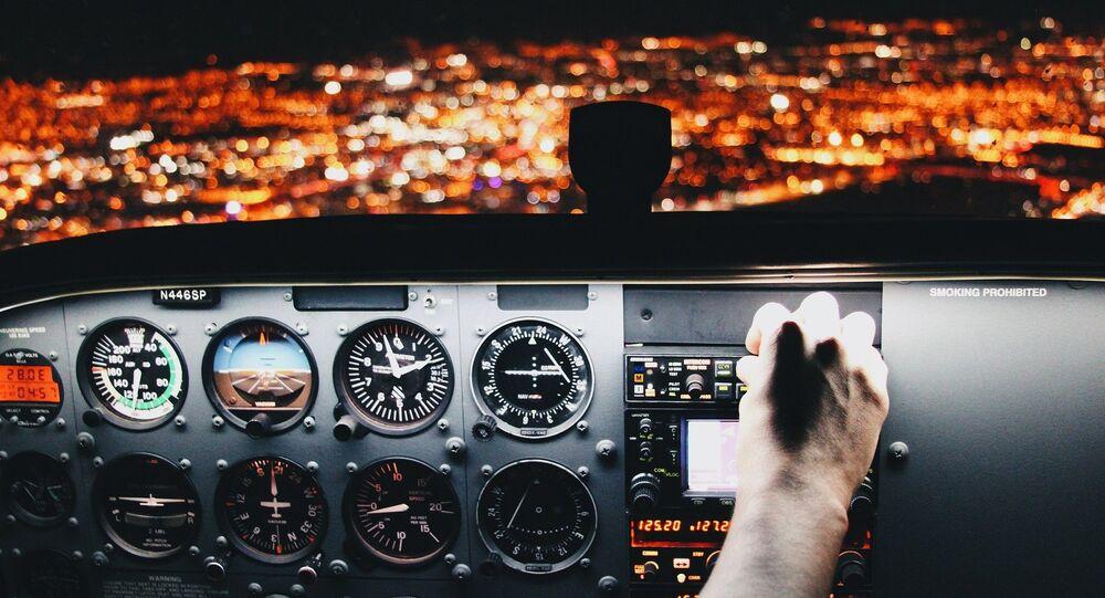 Un cockpit