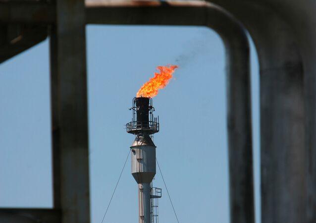 Le gaz russe. Image d'illustration