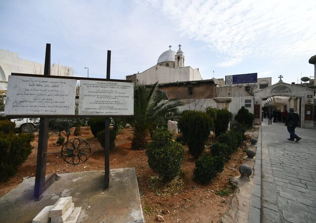 Une église du patriarcat d'Antioche à Damas  (image d'illustration)