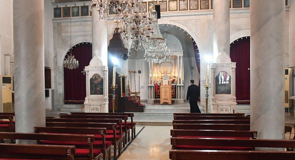 une paroisse de l'Église syriaque orthodoxe à Damas