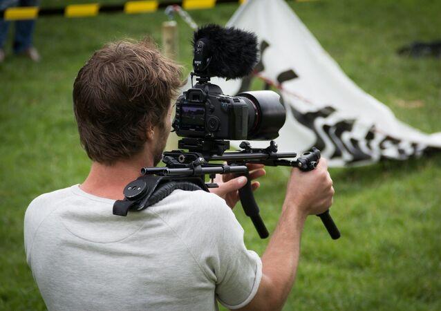 Un caméraman