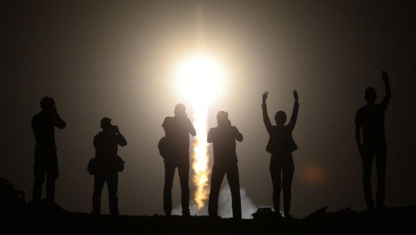 Lancement du vaisseau Soyouz TMA-13M vers l'ISS - Sputnik France
