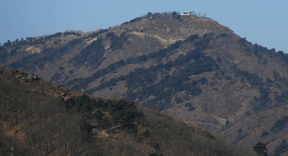 Zone démilitarisée en Corée (archives)