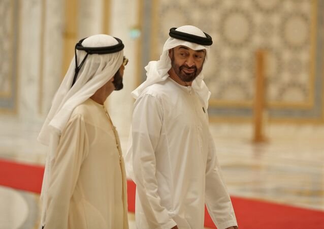 Le prince héritier d'Abou Dhabi, Cheikh Mohammed bin Zayed Al Nahyan