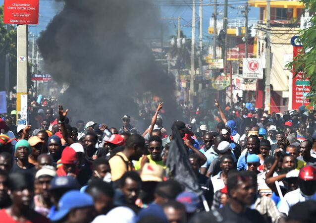 Manifestations à Port-au-Prince