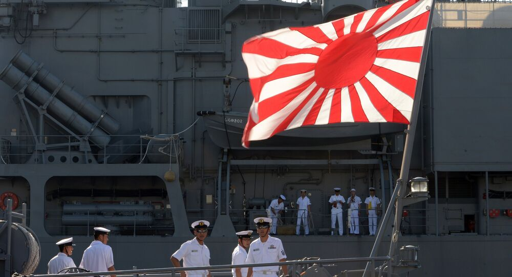 Des destroyers japonais