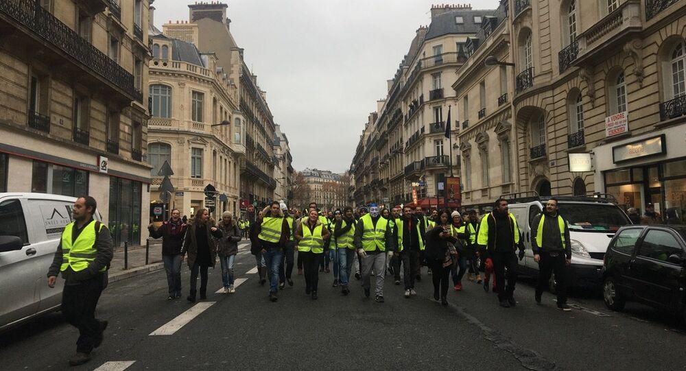 Plusieurs CRS «se défoulent» sur un homme à Paris (image d'illustration)