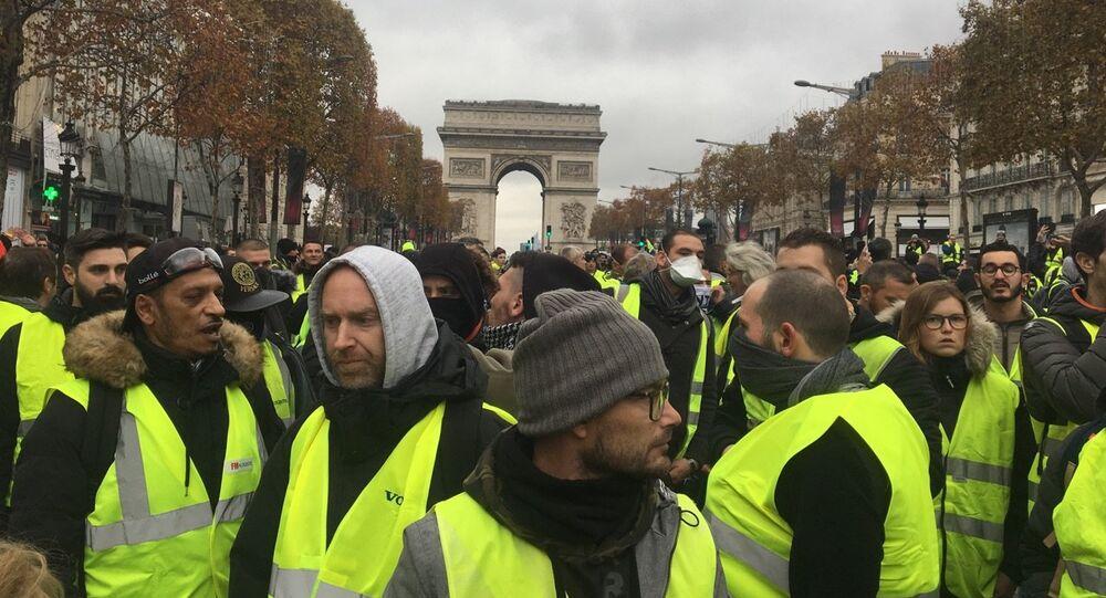 L'act 2 des Gilets jaunes à Paris