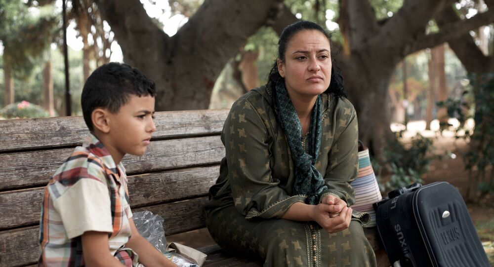 Femme marocaine divorcée avec un enfant
