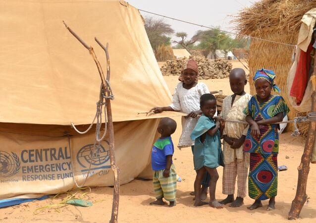Un camp de réfugiés au Niger