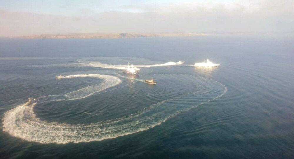 Trois navires ukrainiens ont violé l'espace maritime russe près de la Crimée