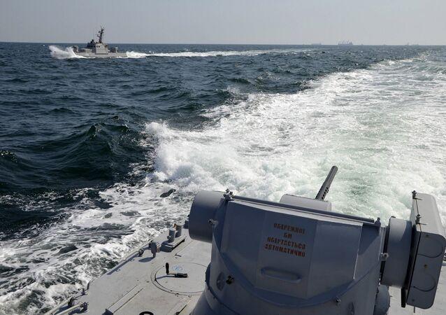 Des navires ukrainiens. Photo d'archive