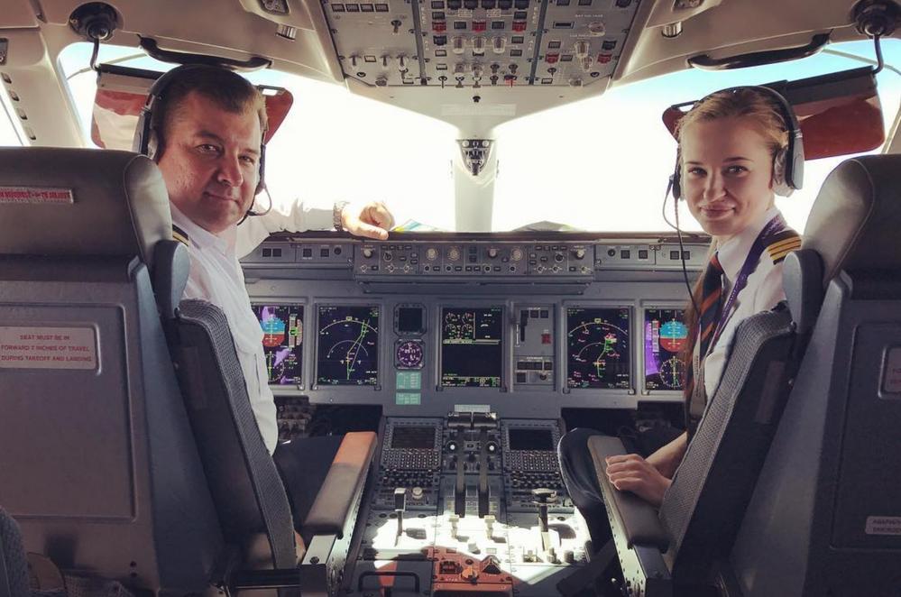 Les femmes pilotes dans l'aviation civile