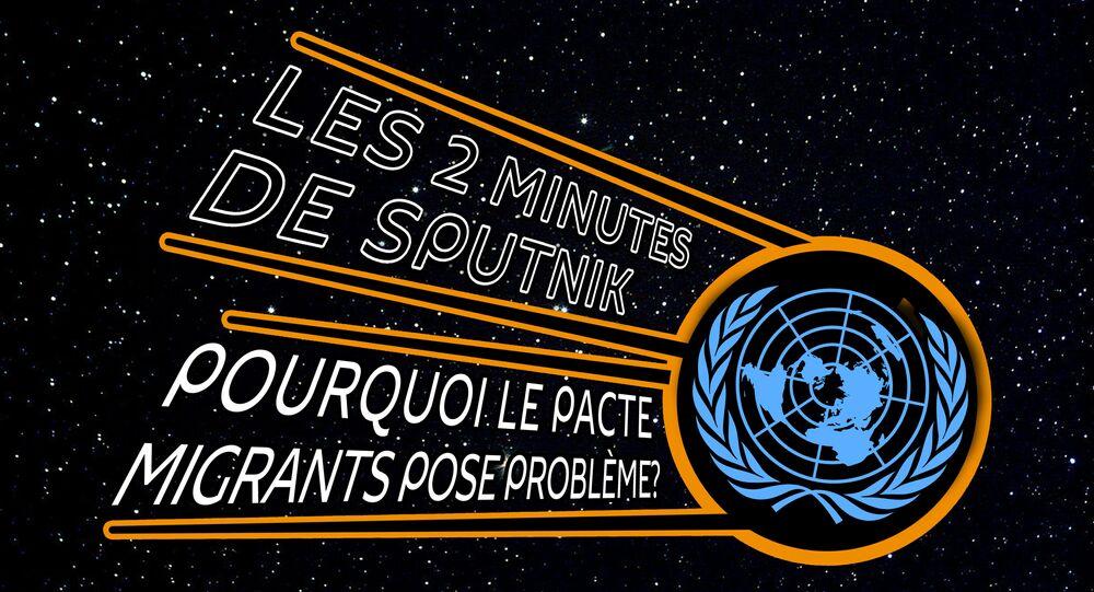 Les Deux Minutes de Sputnik. Migrants