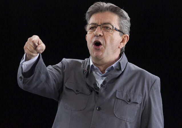 Jean-Luc Mélenchon, le candidat à l'élection présidentielle 2017