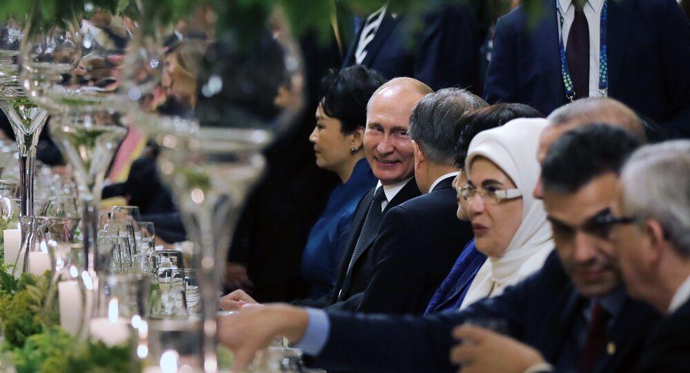 Dîner G20, Vladimir Poutine