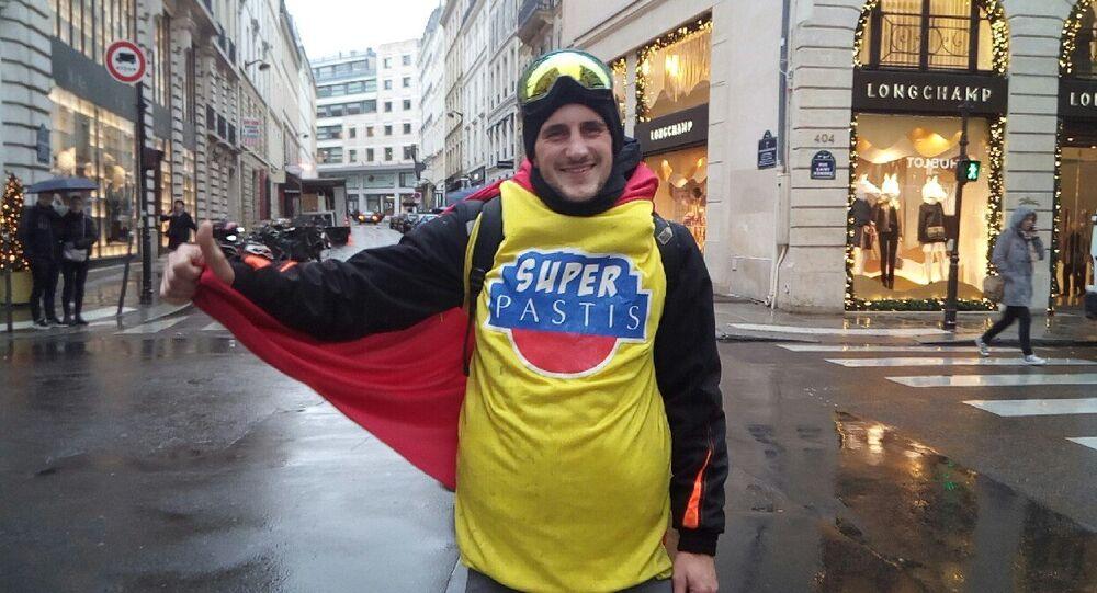 Manifestation des gilets jaunes le 1 décembre 2018 à Paris