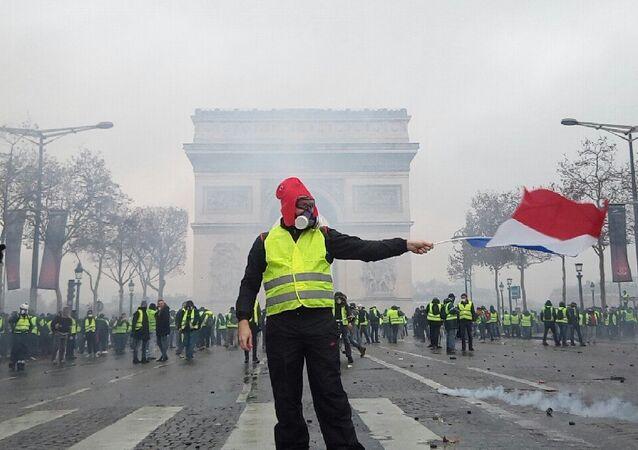Macron ne s'exprimera pas ce dimanche sur les «gilets jaunes», selon l'Élysée (image d'illustration)