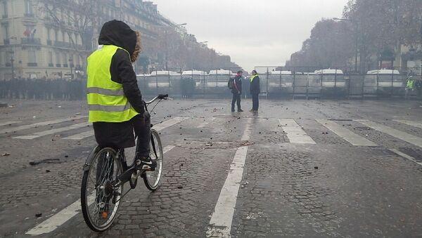 Gilets jaunes le 1 décembre 2018 à Paris - Sputnik France
