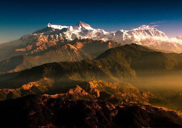 Les montagnes du Népal