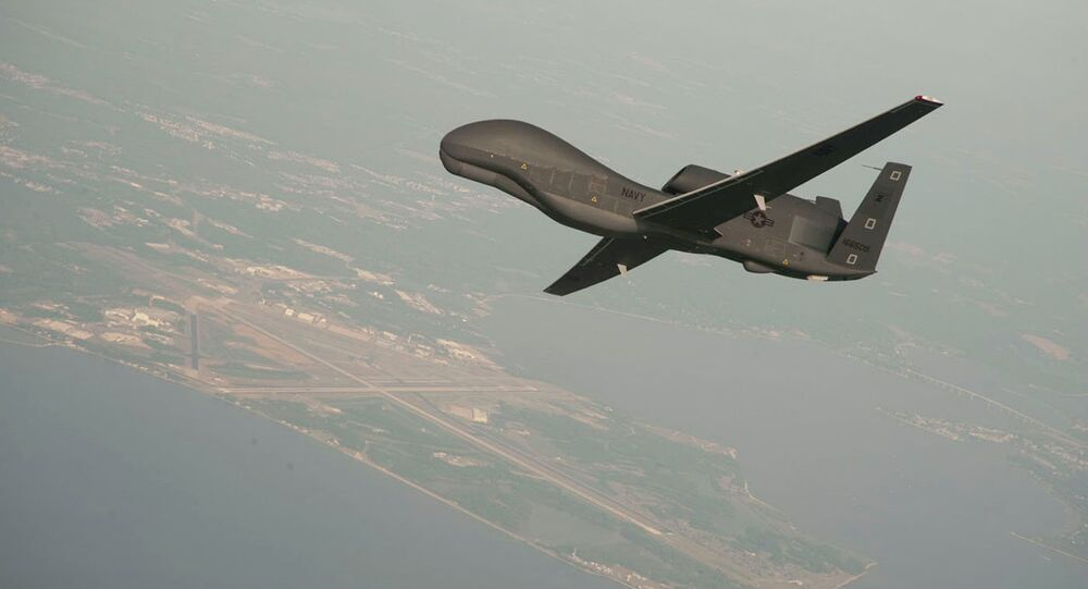 Un drone américain (image d'illustration)