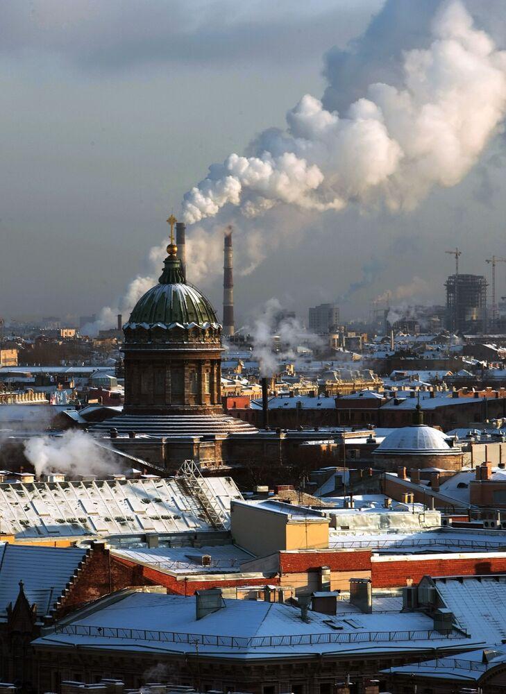Saint-Pétersbourg magique en hiver