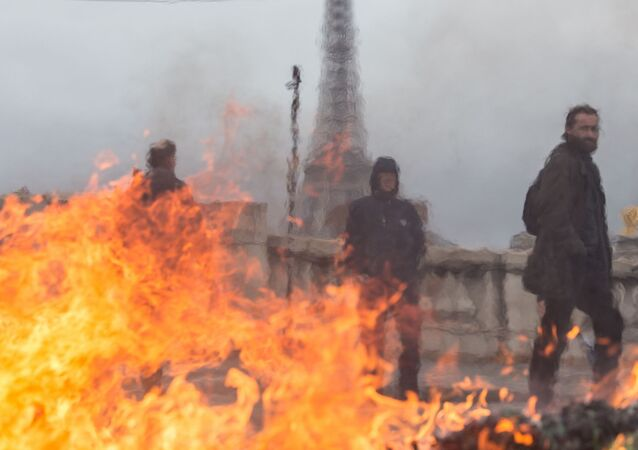 La grève des ambulanciers à Paris