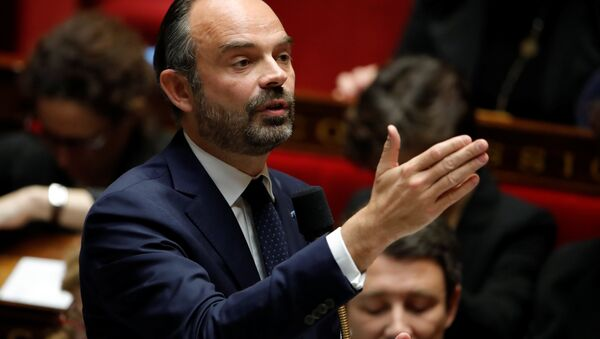 French Prime Minister Edouard Philippe - Sputnik France