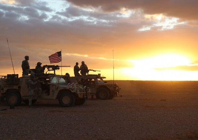 militaires américains en Syrie (image d'archive)